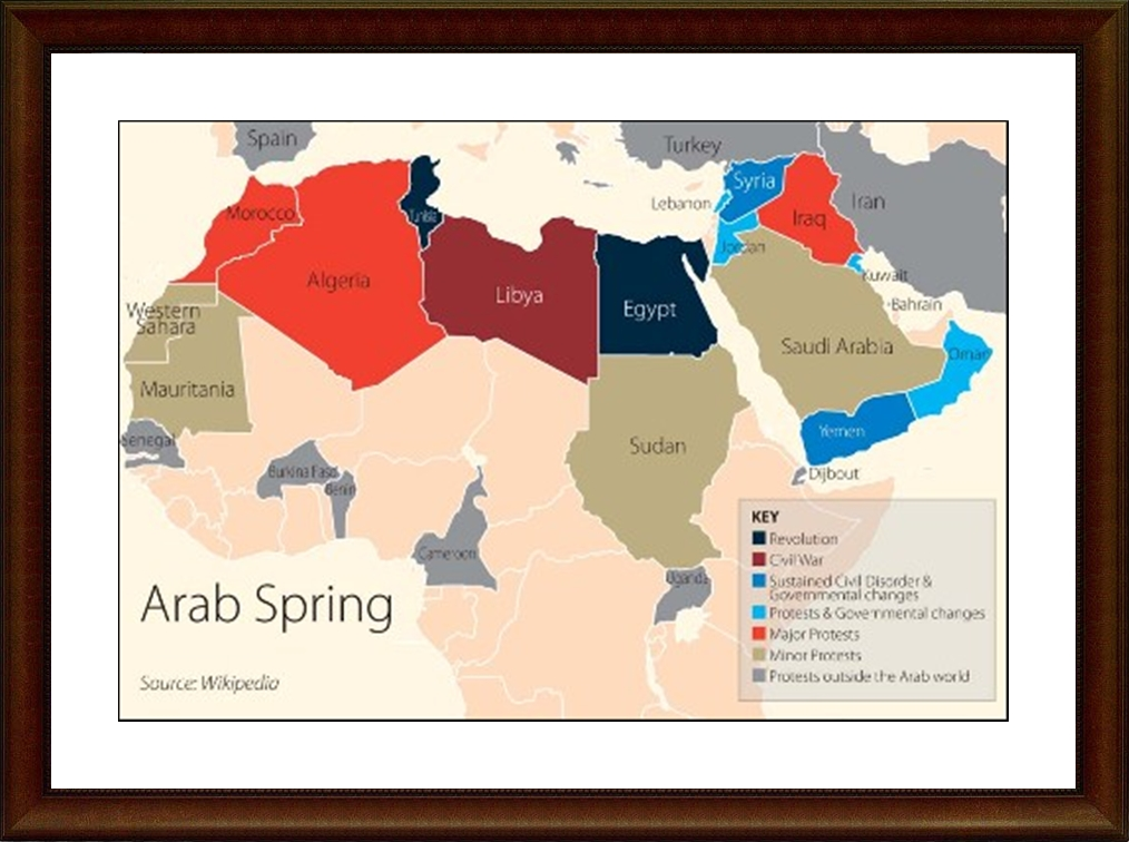 the unprecedented changes to the muslim world brought about by the arab spring in tunisia in 2010